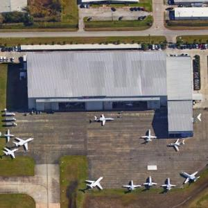 Jet Aviation's Hangar (demolished by wind) (Google Maps)