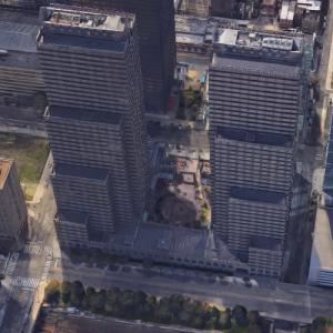'One Commerce Square' by I.M. Pei (Google Maps)