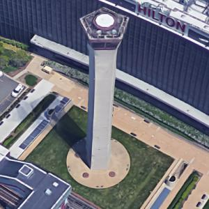 'O'Hare Ground Control Tower' by I.M. Pei (Google Maps)
