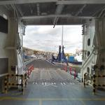 Google camera car onboard the ferry MV Hamnavoe