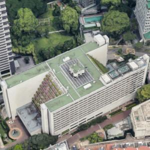 'The Regent Singapore' by John Portman (Google Maps)
