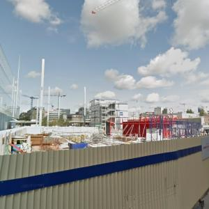 'Maison de l'Ordre des Avocats' by Renzo Piano under construction (StreetView)