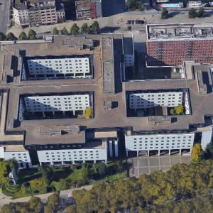 'AMCA Building' by Richard Meier (Google Maps)