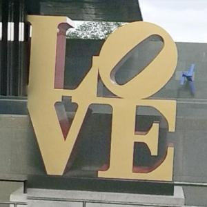 "'LOVE"" by Robert Indiana (StreetView)"