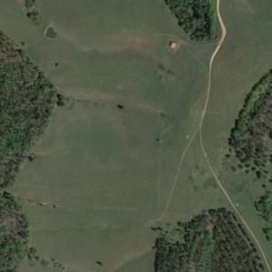 "Rick's group battles the Saviors (""The Walking Dead"") (Google Maps)"