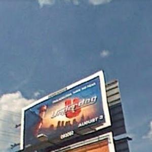 'Underdog' Billboard (StreetView)