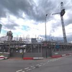City Tower One Nine Elms Vauxhall under construction