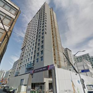 'IBC Hotel' by Ellerbe Becket under construction (StreetView)