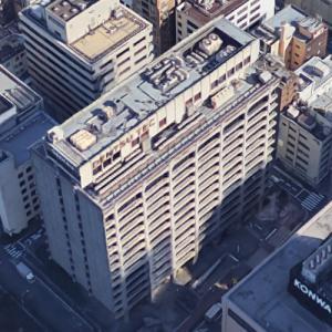 'Denstu TEC Head Office Building' by Tange Associates (Google Maps)