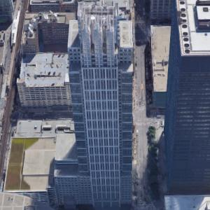 'Chicago Title & Trust Building' by KPF (Google Maps)