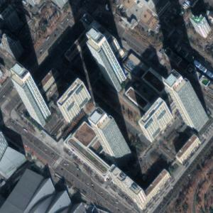 'The First World Towers' by KPF (Google Maps)