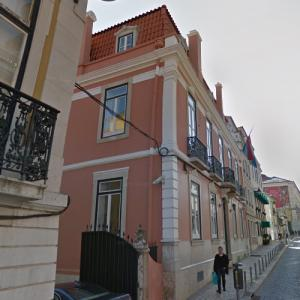 Embassy of Luxembourg, Lisbon (StreetView)