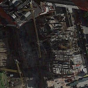 Iconique Tower under construction (Google Maps)