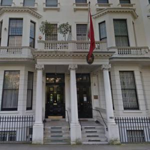Embassy of Morocco, London (StreetView)