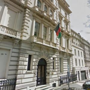 Embassy of Afghanistan, London (StreetView)