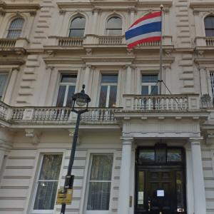 Embassy of Thailand, London (StreetView)