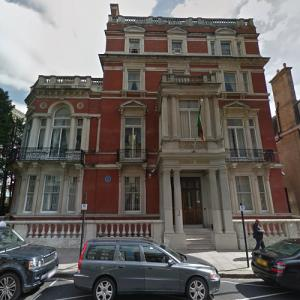 High Commission of Zambia, London (StreetView)