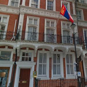 Embassy of Mongolia, London (StreetView)