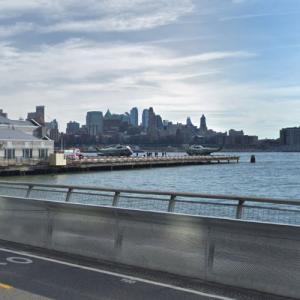 Marine One / Donald Trump @ Downtown Manhattan Heliport (StreetView)