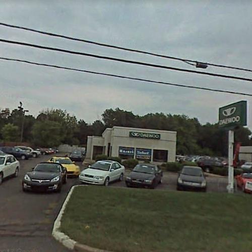 Daewoo Dealership in Wexford, PA (Google Maps)