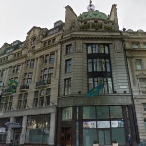 Embassies of Brazil and Kazakhstan, London (StreetView)