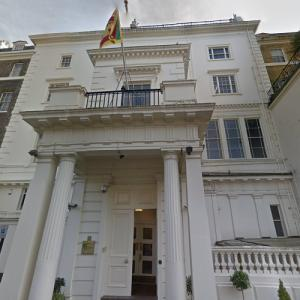High Commission of Sri Lanka, London (StreetView)