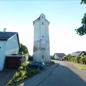Holzmaden water tower (StreetView)