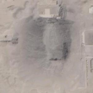 Pyramid of Senusret III (Google Maps)