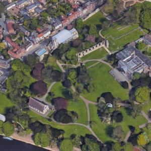 York Museum Gardens (Google Maps)