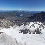 Mount St. Helens and Mount Rainer