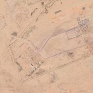 Drone Base in Niger (Google Maps)