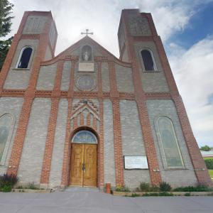 Our Lady of Guadalupe Catholic Church in Antonito (oldest church in Colorado) (StreetView)