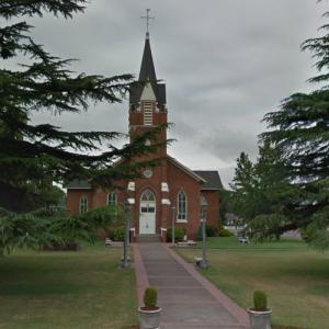 St. Paul Roman Catholic Church (oldest church in Oregon) (StreetView)