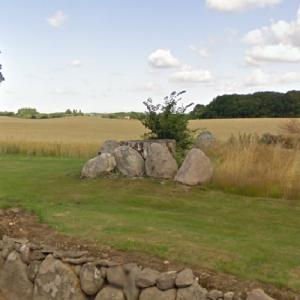 Ruds Vedby Conradineslyst Langdysse (Long Barrow) (StreetView)