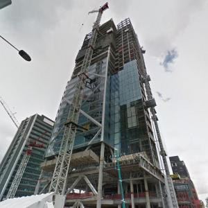 PwC Tower at Commercial Bay under construction (StreetView)