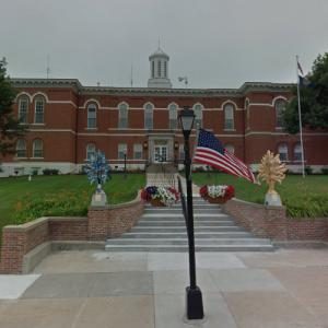 Otoe County Courthouse (oldest public building in Nebraska) (StreetView)