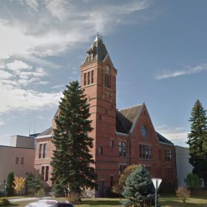 Stutsman County Courthouse and Sheriff's Residence/Jail (StreetView)