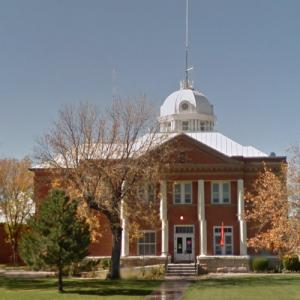 Union County Courthouse (oldest courthouse in New Mexico) (StreetView)