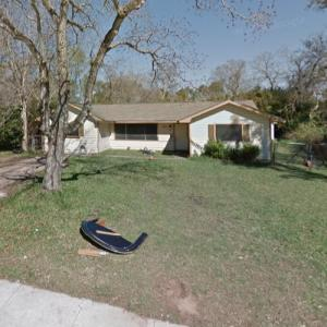 Selena Quintanilla's childhood home (StreetView)