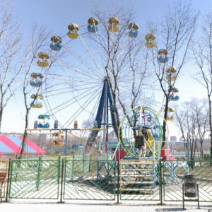 Shcherbakov Park Survey Wheel (StreetView)