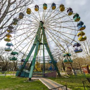 Municipal Park Survey Wheel (StreetView)