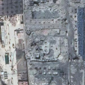 Guiyang World Trade Center under construction (Google Maps)