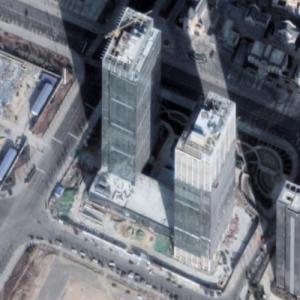 Victoria Square under construction (Google Maps)