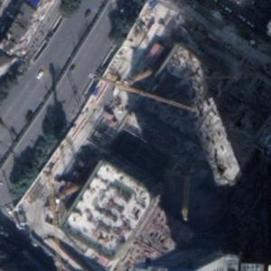 Prudential Center Guiyang under construction (Google Maps)