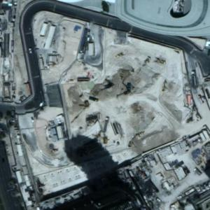 Il Primo Towers under construction (Google Maps)