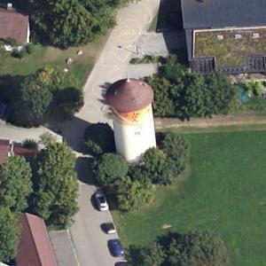 Oberberken water tower (Google Maps)