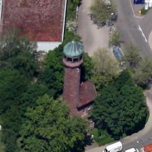 Wasserturm auf dem Rodrucken (Google Maps)