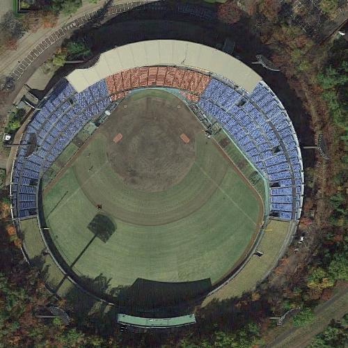 Fukushima Azuma Baseball Stadium (Google Maps)