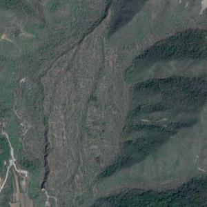 Xiaohaituo Bobsleigh and Luge Track (Google Maps)