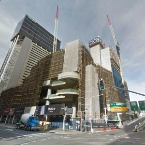 The One under construction (StreetView)